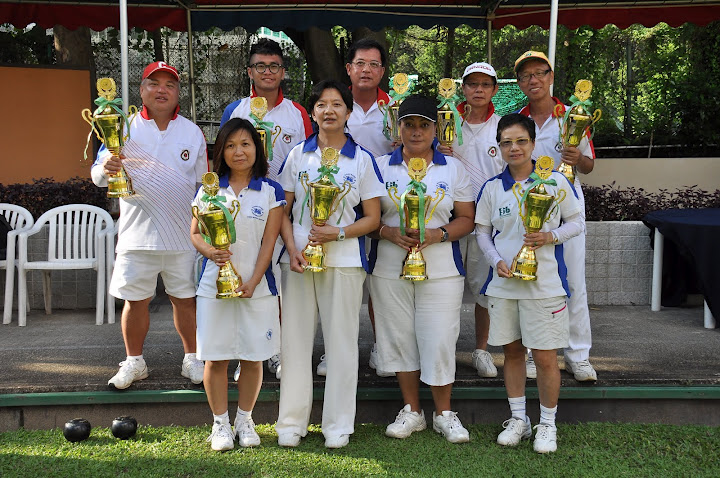HKLBA Golden Jubilee Fours winners